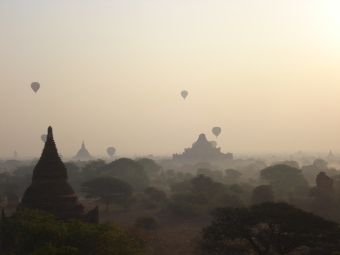 Sunrise Bagan, Myanmar
